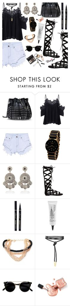 Rosegal Style by dora04 on Polyvore featuring One Teaspoon, Steve Madden, STELLA McCARTNEY, Borghese and rosegal