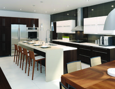 Contemporary Kitchen from Fabritec Instant #Fallidays #Kitchen #KitchenInspiration