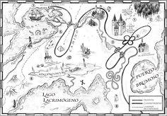 L.S. Una serie de Catastróficas Desdichas: Mapa del Universo de Una Serie de Catastróficas Desdichas