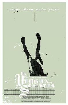 "MP405. ""The Virgin Suicides"" Alternate Movie Poster by Adam Juresko (Sofia Coppola 1999) / #Movieposter"