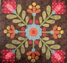 Henry Glass Fabrics: Guest Designer: Kim Diehl On Inspiration Hand Applique, Felt Applique, Applique Patterns, Applique Quilts, Quilt Patterns, Applique Pillows, Dress Patterns, Small Quilts, Mini Quilts