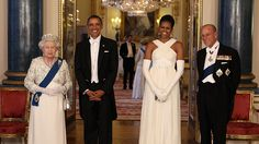 <p> The Queen has seen the world's kings and queens, presidents and prime ministers come and go in her 63-year reign. She hosted the United States' first black president, Barack Obama and First Lady Michelle Obama at Buckingham Palace in 2011.</p>