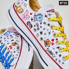 I want this shoes Converse All Star, Converse Shoes, Estilo Harajuku, Bts Clothing, Kpop Merch, Line Friends, Bts Chibi, Bts Lockscreen, Kpop Outfits