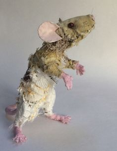'Fawn' the fabric Rat