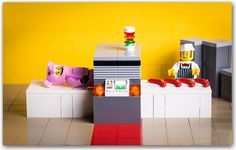 Sausage machine Lego Photo, Sausage, Bed, Inspiration, Furniture, Home Decor, Biblical Inspiration, Decoration Home, Stream Bed