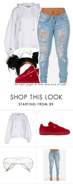 """""""10.22.16"""" by trinityannetrinity ❤ liked on Polyvore featuring T By Alexander Wang and Puma"""