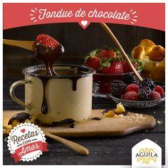 Fondue de #Chocolate