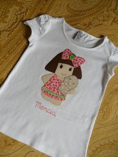 la sastrecilla valiente: camiseta kitty oso