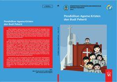 Download Gratis Buku Siswa Pendidikan Agama Kristen dan Budi Pekerti Kelas 6 SD Kurikulum 2013 Format PDF