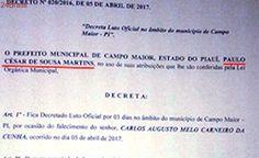 Mal assessorado, Ribinha assina até decreto com nome de Paulo Martins