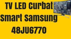 Televizor LED Curbat Smart Samsung 121 cm 48JU6770 UHD - Samsung 48JU6770 Samsung, Led