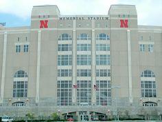 Lincoln Memorial Stadium...home of the Nebraska CORNHUSKERS