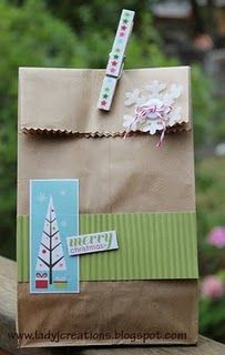 Decorated paper bag...I can do this!