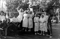 Un grupo de mujeres de la Cruz Roja, a su llegada a Toledo para asistir a los heridos (28 de julio de 1936).