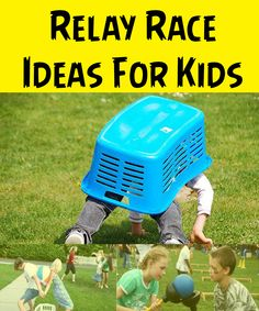 5 summer relay games for family reunions | Reunions, Relay games ...