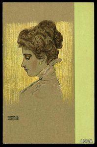 Raphael Kirchner - porträts von Wiener damen