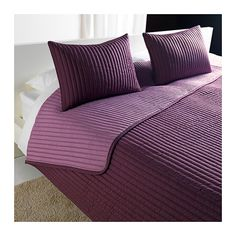 KARIT Bedspread and 2 cushion (use this as the throw at the end of the bed - can also be used as an extra layer.
