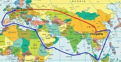 World's longest train route opens