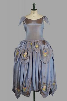 Vintage Party Dress by Jeanne Lanvin 1925