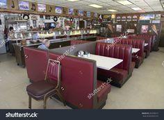 Famous Diner, Hokes Cafe On Old Lincoln Highway, Us 30, Ogallala, Nebraska Stock Photo 265398215 : Shutterstock