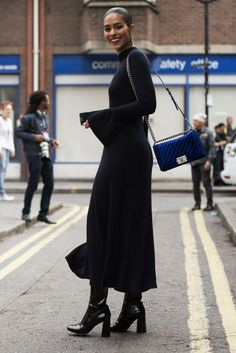 London Fashion Week SS17 Street Style: Day 5  - ELLEUK.com