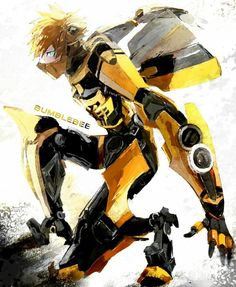 Transformers, Bumblebee an interesting humanoid concept