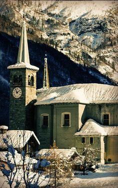 Inverno in Valsesia,  Riva Valdobbia, Piedmont, Italy