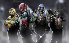 "Teen-Aged Mutant Ninja Turtles in ""A Traitor In Our Midst"" Who could it be?"