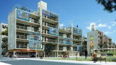 Concurso Habitação para Todos – edifícios de 04 pavimentos – 1º lugar