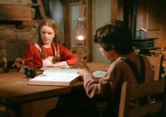 Little House On The Prairie   Doing homework - Little House On The Prairie Photo (25138803) - Fanpop ...