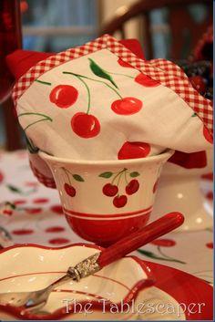 The Tablescaper: It's Cherry Season!