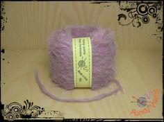 1 gomitolo 50 grammi, colore lilla melange di Fancy yarns su DaWanda.com
