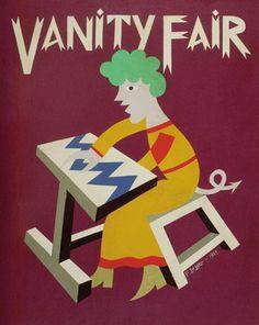 Fortunato DEPERO: Vanity Fair