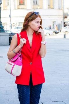 Красный жилет / Фотофорум / Burdastyle
