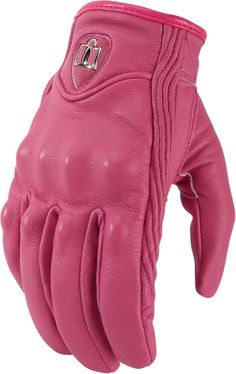 Pursuit Non-perf Glove - Pink | Products | Ride Icon