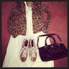 My outfit. Wear or tear? Cheetah Print, Polyvore, How To Wear, Outfits, Dresses, Fashion, Vestidos, Moda, Suits