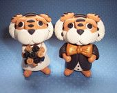 Mizzou Tigers Cake Toppers!!  I would totally have these if I ever got married!