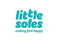 ...Great Charity!!...    Logo for Little Soles, a charity that pairs children in need with shoes that other kids have grown out of. Designed by Tom Ward.