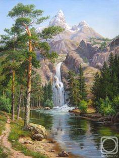 Потапов Виталий. Водопад