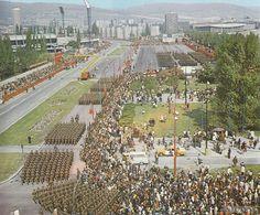 Vojenská prehliadka na Bajkalskej