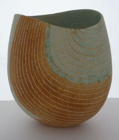 Sand with Stripes with Waves, John Ward Ceramic Clay, Ceramic Bowls, Ceramic Pottery, Pottery Art, John Ward, Surrealism Painting, Sand Art, Pottery Designs, Modern Ceramics