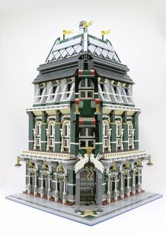 The release of the LEGO modular building series in 2007 prompted enthusiasts to model their own inspired creations. Since the series' inception hundred of users have posted their modulars onl…