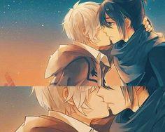 No. 6 ~~ Sunset kiss :: Shion x Nezumi