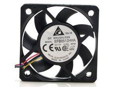 NEW DELTA EFB0512HHA 5cm 50mm 12V 0.20A 4-pin computer pc case Server Inverter fan 50*10MM cooler - Newegg.com