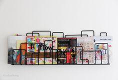 magazine storage ideas
