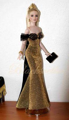 by Svetlany Blacksvetlus Barbie Bridal, Barbie Wedding Dress, Barbie Gowns, Barbie Dress, Barbie Clothes, Barbie Sewing Patterns, Baby Dress Patterns, Barbie Fashionista, Fashion Dolls