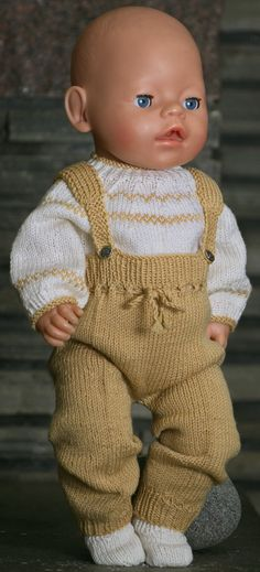 How To Start Knitting, Easy Knitting, Girl Dolls, Baby Dolls, American Girl, Baby Born Clothes, Baby Pop, Alexander Dolls, Sweater Knitting Patterns
