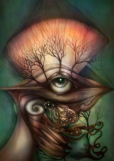 forest of lashes by *gepardsim …ellos vivian en el gran bosque de las pestañas y no podian gritar