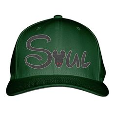 Soul Embroidered Baseball Cap