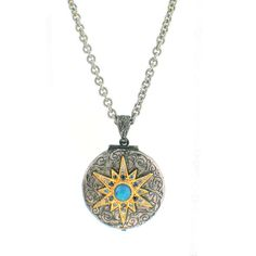 Arman Sarkisyan Opal, 22K Gold and Sterling Silver Locket – Seattle Jewelry | Fox's Seattle
